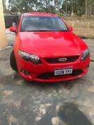 2009 Ford Falcon FG XR6 Red 5sp Swan View Swan Area Preview