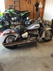 Like New Honda Shadow Aero Safetied