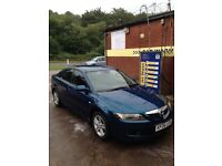 mazda 6 TS ,2006,£950 ovno,great condition,service history,long mot,5door saloon,cheap,quick sale