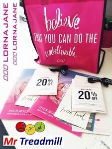 20% OFF LORNA JANE VOUCHER WITH PURCHASE | Mr Treadmill Hendra Brisbane North East Preview