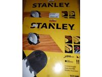 Stanley Circular Saw Blades 210mm X2 BARGAIN Brand new unused in packaging