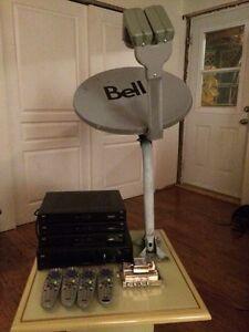 Décodeurs et antenne HD Bell Express Vu
