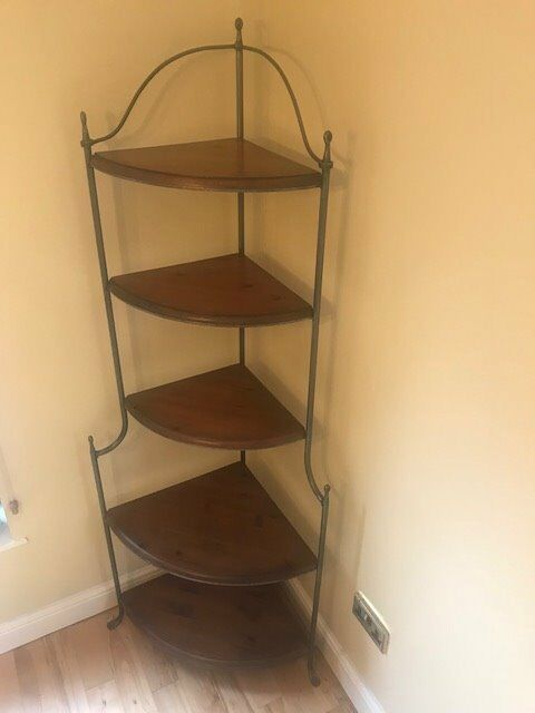 Ducal Corner Shelf Unit - Excellent Condition