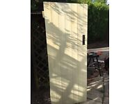 4 x Ledge / Braced Style Wooden Doors