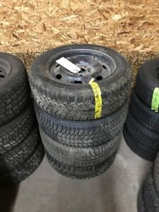 215/60/16 Hankook Winter Tires and Ford Winter Wheels