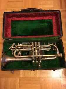 Holton Silver New Proportion Cornet