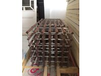 Stylish hardwood wine racks from Habitat for sale