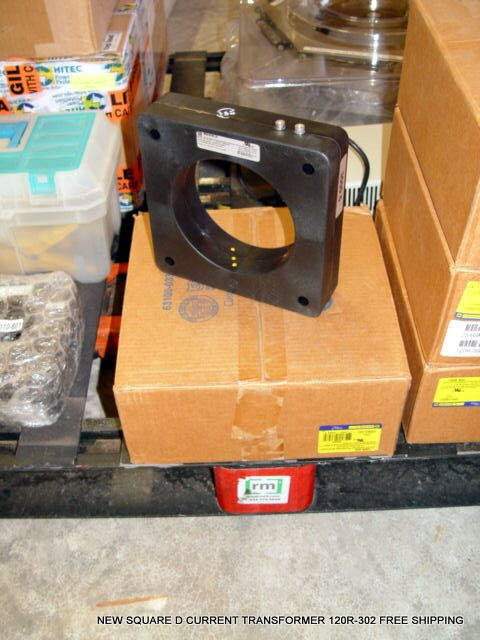 NEW SQUARE D CURRENT TRANSFORMER 120R-302 FREE SHIPPING