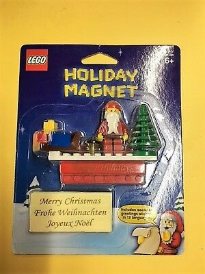 Lego Holiday Magnet 852742 Santa 2009