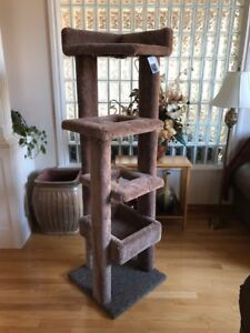 Cat Condos / Tree Houses & Scratching Posts - Made Very Strong