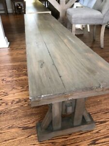 Reclaimed Wood Dining Bench from Urban Barn
