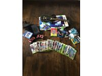 XBox 360 + Controllers; Games; Guitar Hero