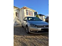 Silver 1.6L Diesel VW Passat, Bluemotion Saloon Car