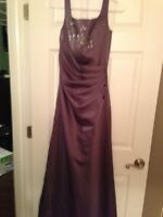 4 beautiful grad or bridesmaid dresses all size 2 or small