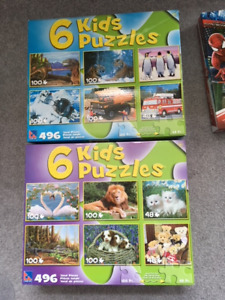 KIDS PUZZLES, GAMES & MORE!