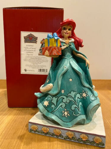 Jim Shore Disney Gifts of Song - Ariel with Gifts #6008982 New for 2021