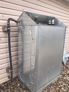 heater oil furnace/tank/ducting