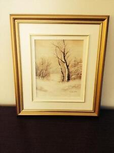 Oil Painting Winter