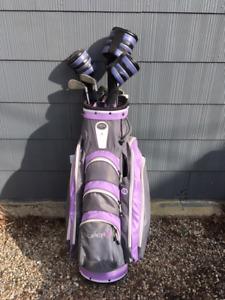 Bâtons de golf femme gaucher