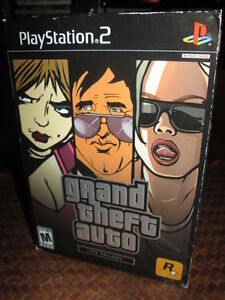 ***PS2 GRAND THEFT AUTO TRILOGY COMPLETE!!!***