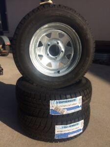 Tires New RIMS + TIRES 175/70/13 Weathermate # only
