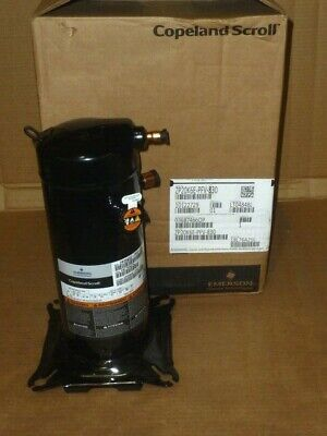 Copeland Scroll Compressor Zp20k6e-pfv-830 208v - 230v 1 Phase 3ma-poe New