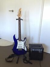 Electric Guitar Ibanez Gio+amp+stand+strap+softcase. USED. Docklands Melbourne City Preview