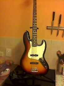 Fender [Mexico] Jazz Bass. Trades available,especially top end in need of work