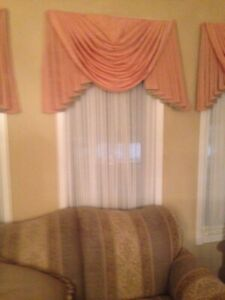 Curtains and sheers for sale
