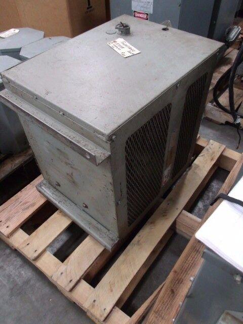 Powertronic 15 KVA Transformer Model 9-0717   Primary 483/460/437, Secondary 460