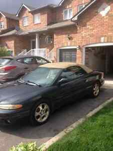 1999 Chrysler Sebring jxl Convertible