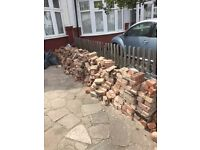 FREE USED WIRE CUT BRICKS - COLLECTION ONLY