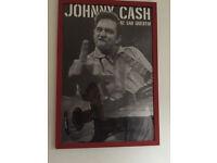 Framed Johnny Cash Poster