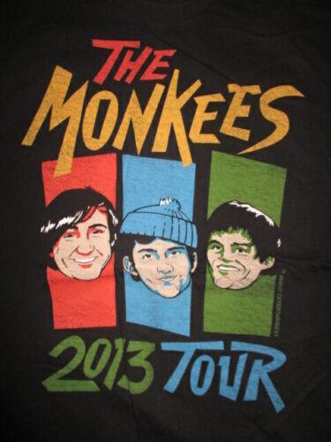 2013 The MONKEES Concert Tour (LG) Shirt Peter Tork Michael Nesmith Micky Dolenz