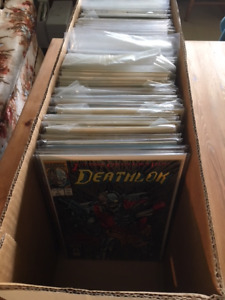 Long Box of Comics Books for sale - only $100.