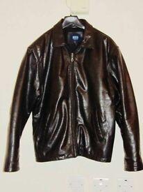 Vintage Leather Jacket - Size S/M
