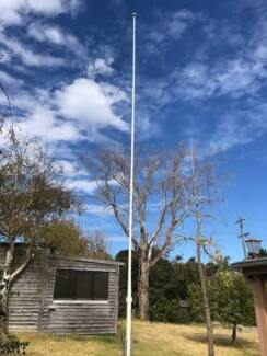 Flag Pole - Timber - For sale