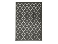 Large Rug from Ikea, grey/white