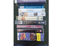VCR Tapes - Boxed Set [Only Fools & Horses] plus 6 Movies
