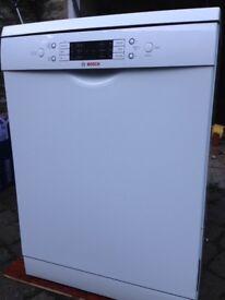 Bosch Dishwasher 60 cm White Underbench