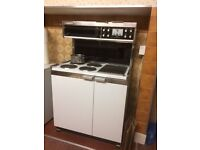 Electric range style cooker