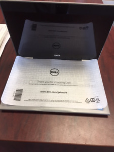 Dell Inspiron 13 2 in 1 - 13.3-inch touchscreen WITH SSD HDD