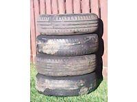 vauxhall 5 stud 15 inc steel wheels