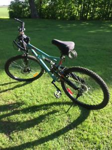 Bicyclette  airwalk 26'', vélo pour femme