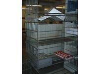 4 tier metal storage rack