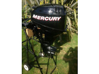 Mercury 15M 4 Stroke Short Shaft, extremely low hours, almost as new.