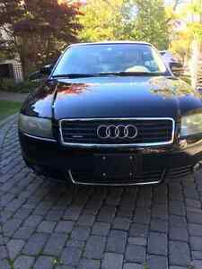 2004 Audi A4 Convertible 3.0L Coupe 6 Cylinder + Winter Tires