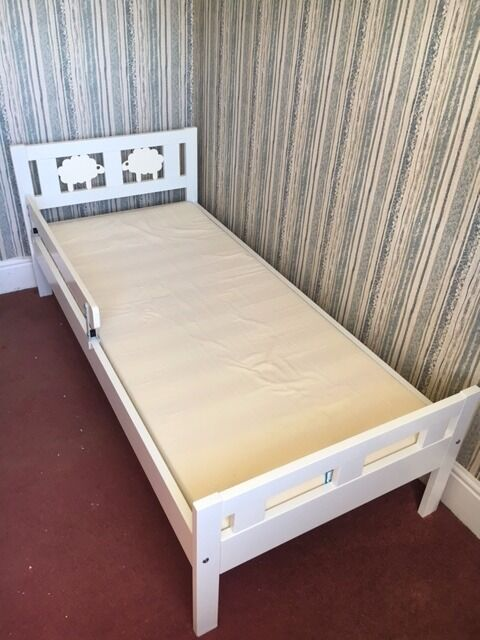 Ikea Kritter Bed Frame With Slatted Bed Base Guard Rail