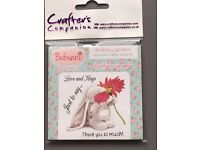 Bebunni Rubber Stamp by Crafter's Companion
