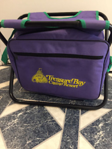 2in 1 Seat and lunch bag ex co as brand new